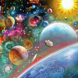 Пазл онлайн: Космос