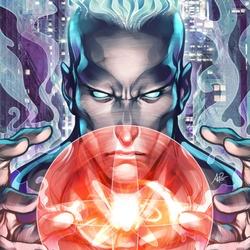 Пазл онлайн: Капитан Атом
