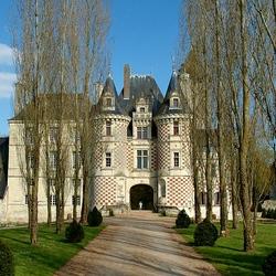 Пазл онлайн: Замок де Рео. Франция