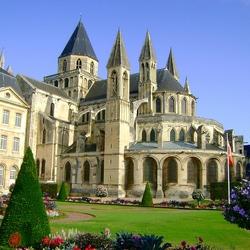 Пазл онлайн: Город Кан. Франция