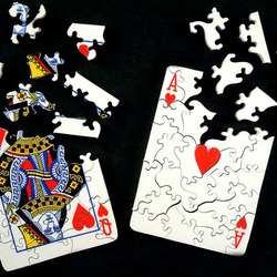 Пазл онлайн: Двойная игра