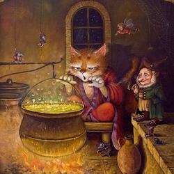 Пазл онлайн: Ученик чародея