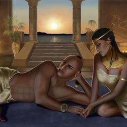 Пазл онлайн: Египетские ночи