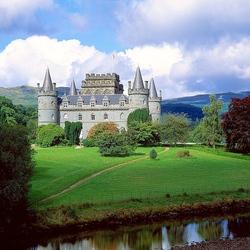 Пазл онлайн: Замок Инверэр. Шотландия