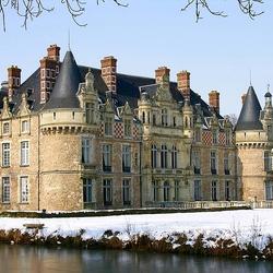 Пазл онлайн: Замок-отель Эсклимон. Франция