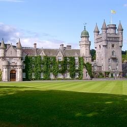 Пазл онлайн: Замок Балморал. Шотландия