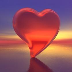 Пазл онлайн: Хрустальное сердце