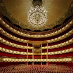 Пазл онлайн: Баварская государственная опера (Bavarian State Opera), Мюнхен, Германия