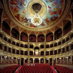 Пазл онлайн: Венгерский государственный оперный театр (Hungarian State Opera House), Будапешт, Венгрия