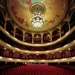 Пазл онлайн: Королевский оперный театр (Royal Swedish Opera), Стокгольм, Швеция