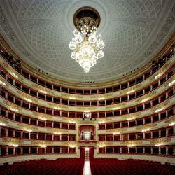 Пазл онлайн: Ла Скала (La Scala), Милан, Италия