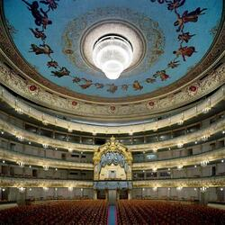 Пазл онлайн: Мариинский театр, Санкт-Петербург, Россия