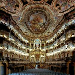 Пазл онлайн: Маркграфский оперный театр (Margravial Opera House), Байройт, Германия