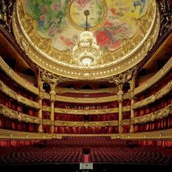 Пазл онлайн: Опера Гарнье (Palais Garnier), Париж, Франция