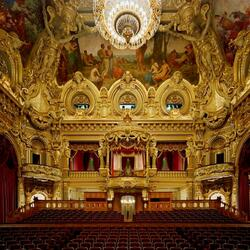 Пазл онлайн: Опера Монте-Карло (Opera de Monte Carlo), Монте-Карло, Монако