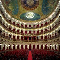 Пазл онлайн: Оперный театр Амазонии (Teatro Amazonas), Манаус, Бразилия