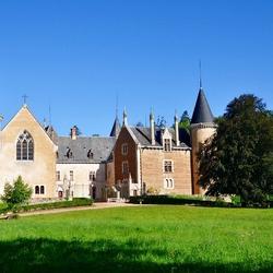 Пазл онлайн: Замок в Бургундии. Франция
