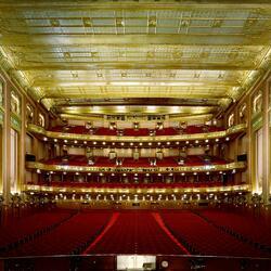 Пазл онлайн: Большой оперный театр Чикаго. Иллинойс