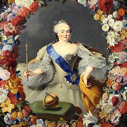 Пазл онлайн: Императрица Елизавета Петровна