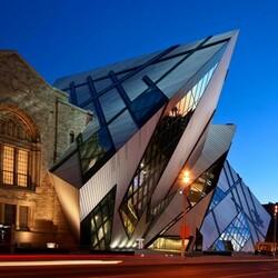 Пазл онлайн: Королевский музей Онтарио, Торонто, Канада