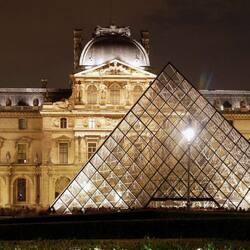 Пазл онлайн: Лувр, Париж, Франция