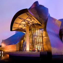 Пазл онлайн: Музей Геггенхайма в Бильбао, Испания