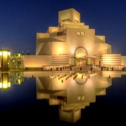 Пазл онлайн: Музей исламского искусства, Доха, Катар