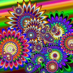 Пазл онлайн: Фантастические цветы