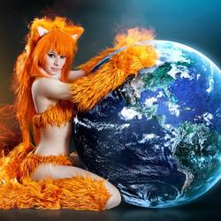 Пазл онлайн: Mozilla Firefox