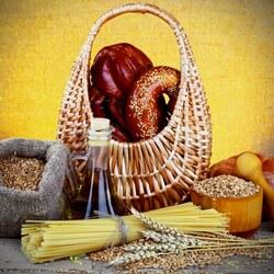 Пазл онлайн: Хлебобулочные изделия