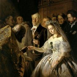 Пазл онлайн: Неравный брак