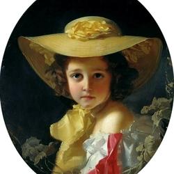 Пазл онлайн: Портрет графини М. П. Толстой