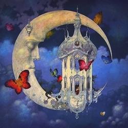 Пазл онлайн: Сон луны