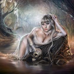 Пазл онлайн: Мертвая вода