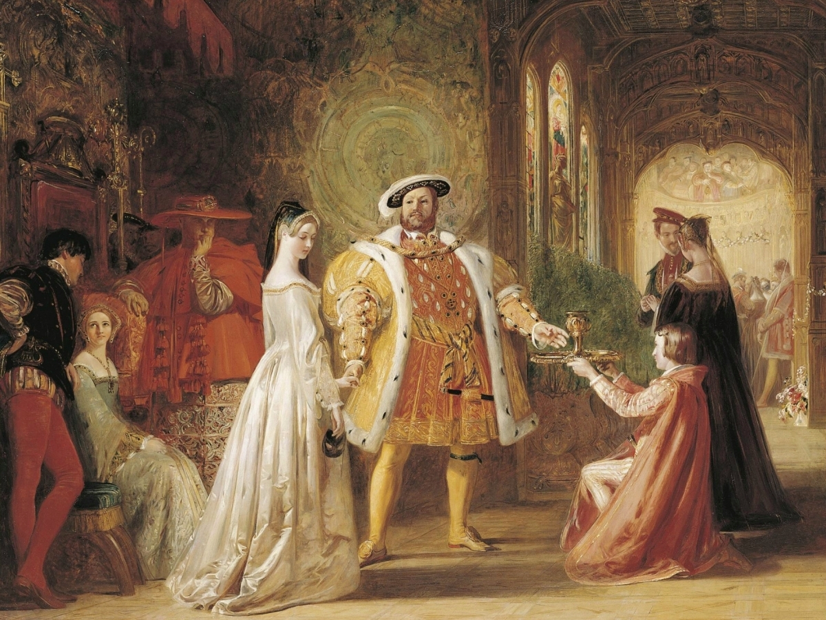 a report on henry viiis love for anne boleyn the reason of his divorce with catherine of aragon