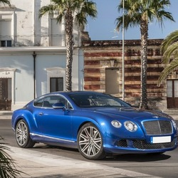 Пазл онлайн: Bentley 2012 Continental GT Speed