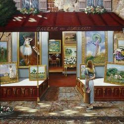 Пазл онлайн: Галерея изящных искусств