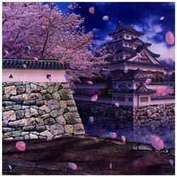 Пазл онлайн: Цветение сакуры.Япония