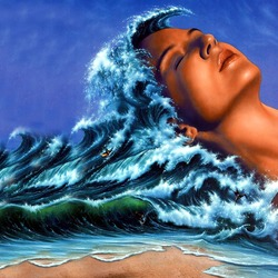 Пазл онлайн: Волны