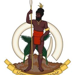 Пазл онлайн: Герб Вануату