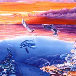 Пазл онлайн: Небо и море
