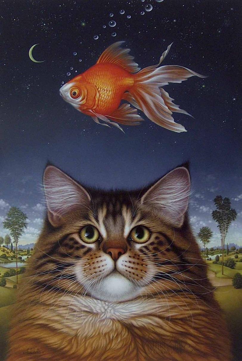 Вышивка только ты-рыба
