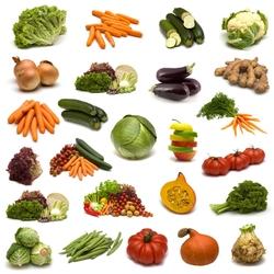 Пазл онлайн: Овощная диета