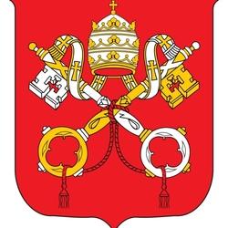 Пазл онлайн: Герб Ватикана