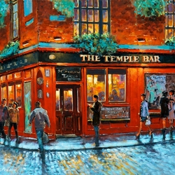 Пазл онлайн: The Temple Bar, Дублин