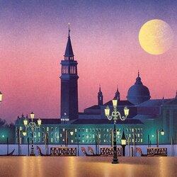 Пазл онлайн: Вечер в Венеции
