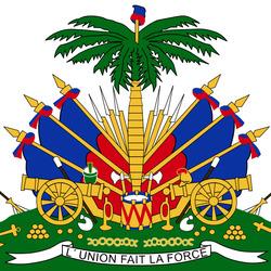 Пазл онлайн: Герб Гаити
