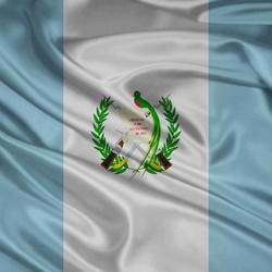 Пазл онлайн: Флаг Гватемалы