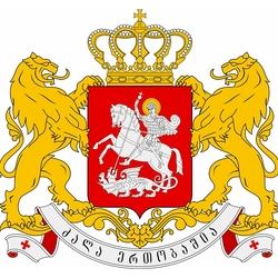 Пазл онлайн: Герб Грузии