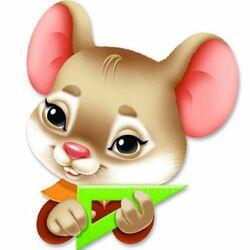 Пазл онлайн: Мышонок